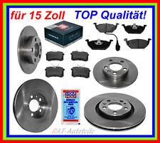 Bremsscheiben+Bremsbeläge  VA+HA 15 Zoll VW Bora,Golf IV(1J5),Variant,N.Beetle