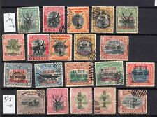 NORTH BORNEO 1897 1902 DUE  lot of 20 stamps  british colonies malaya