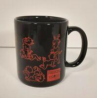Vintage Horny Little Red Devil Sexual Position Mug **Rare**