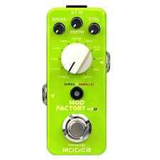Mooer Mod Factory MKII Modulation Guitar Effect Pedal 11 Algorithms NEW Release