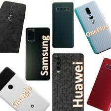 Samsung Huawei OnePlus Google Skin Wrap Folie 3M Case Schutzfolie Rückseite