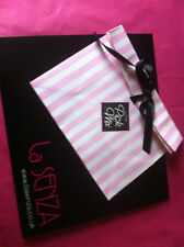 LA SENZA 1 GIFT BOX &  PICK AND MIX CANDY STRIPE BAG WITH 4 sheets of TISSUE