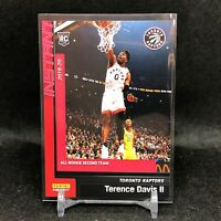 Terence Davis II 2019-20 Panini Instant All-Rookie Team RC Card #204 SP /1341!