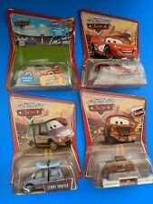 Disney Pixar Cars Chase Lot Night Vision McQueen Leroy Traffick Fred Bumpers
