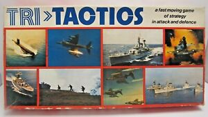 Vintage H P Gibson TACTIOS Strategy Attack & Defence Game - (3372)