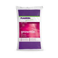 Plagron Grow Mix 50 L Erde Anbauerde mit Perlit Grow Nährmedium Anzucht Kräuter