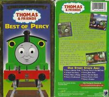 Vintage Thomas Train Tank  Engine Friends  Best of Percy VHS video