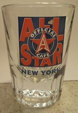 New All Star Cafe New York Shot Glass Glass