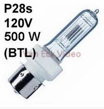 Lamp P28s, 120V, 500W Halogen Osram 54685 - ANSI: BTL