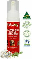PetWay Petcare Waterless Foam Dog Grooming Shampoo 200ml