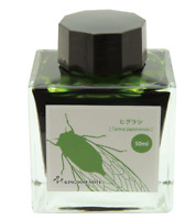 KINGDOM NOTE x SAILOR Ink for Fountain Pen Insect Tanna Japonensis Green Japan