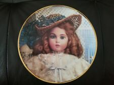 """""""The Antique Doll"""" Hanau Doll Museum limited edition collector plate by The."""