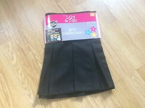 Brand New Black Girl's Pleated School Skirt, Age 4-5yrs, 5-6yrs, 7-8yrs, 8-9yrs