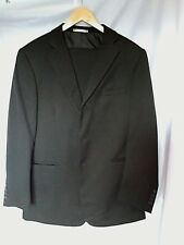 Taylor & Wright Suit, Black, Single Breasted, Jacket 40R, Trousers 34S