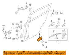 KIA OEM 11-16 Sportage-Interior Inside Door Handle Left 826103W000