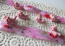 6 Stück Gastgeschenk Babys  Rosa Babyparty Tischdeko Taufe