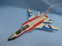 Vintage Large 16'' POLISTIL Frecce Triccolori TORNADO COMBAT AIRCRAFT Plane Toy