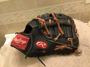 "Rawlings R115FBR  11.5"" Youth Baseball First Base Mitt Right Throw"