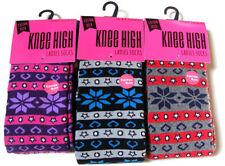 Cotton Blend Knee-High Socks for Women