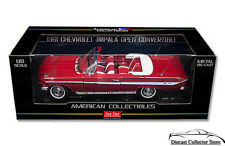 1961 Chevrolet Impala Convertible SUNSTAR Diecast 1:18 Scale Red SS3406