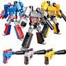 Bumble Bee Optimus Prime Transformers Pistol Robots Toys Megatron Action Figure