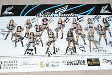 PHILADELPHIA SOUL 2018 SOULMATES CHEERLEADERS PHOTO - SIGNED BY ALL