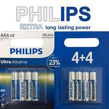 PHILIPS 1.5V AAA Ultra Alkaline Batteries Battery LR03 AM4 R03 MICRO 1.5Volt