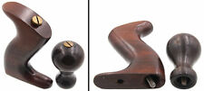 Founder's Grade Rosewood Handle/Knob for Stanley No. 4 Type 19 -mjdtoolparts