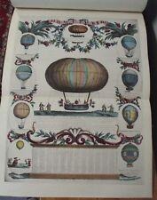 1909 Histoire AERONAUTIQUE, 206 Balloon & Early Aviation Illustrations, #310/325