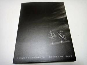 Japanese edition photo book - HIROSHI SUGIMOTO: Nature of Light
