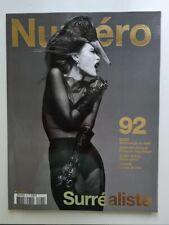 Magazine mode fashion NUMERO french #92 avril 2008 Surrealiste