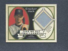 2005 Topps Cracker Jack Mini Relics Jersey #JP2 Jorge Posada Yankees B96 044