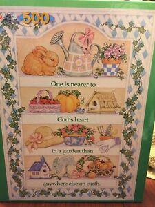 Golden Books 500 Piece Puzzle Garden Shelves