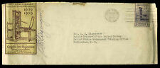 U.S. FDC #857 Planty #72a 1st Club of Printing House Craftsmen of New York Cover