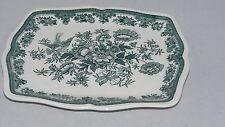 Villeroy und Boch V&B Fasan grün Platte 19,5 x 16 cm Butterplatte