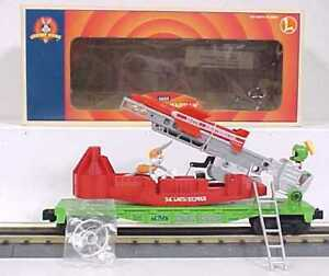 Lionel 6-16752 Marvin the Martian Bugs Bunny Missile Car NIB