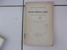 Cyrille JEANNIN etiologie et pathogénie des infections puerpérales putrides 1902