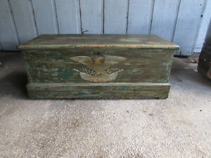 Antique Sea or Sailors Chest Early 1800's or Late 1700's?