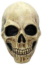 SKULL HEAD MASK LATEX RUBBER HORROR SCARY ADULT HALLOWEEN KARNEVAL MASQUE MASKE