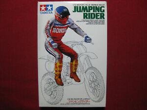 Jumping Rider Figure 1/12 Tamiya For Honda CR250R +Suzuki RM250 Motocrosser Rare