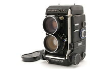 【N MINT+++】Mamiya C330 TLR Film Camera SEKOR 65mm f/3.5 Lens blue dot From JAPAN