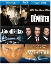 New! Scorsese Triple Blu-Ray Set: Goodfellas - Aviator - Departed - Leo DiCaprio