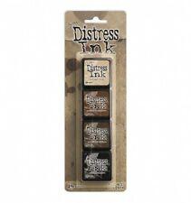 Ranger Mini Distress Ink Pad Set #03 by Tim Holtz | Set of 4