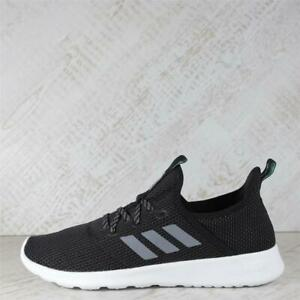 Womens adidas Cloudfoam Pure Black/Grey Trainers (45C21) RRP £69.99