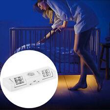 8 LED Cabinet Light Auto PIR Kitchen Wardrobe Cupboard Closet Motion Sensor Lamp