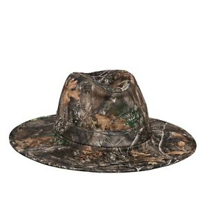 Men's Realtree Edge Camouflage Lightweight Performance Fabric Safari Hat L/XL