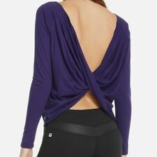 Fabletics Athletic Switch Back Tee Open Back SIZE X-SMALL/4  Reversible