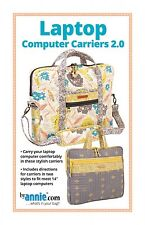 LAPTOP COMPUTER CARRIERS 2.0 CASE SEWING PATTERN, from By Annie, *NEW*