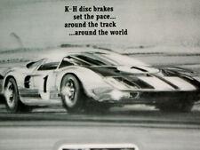 1966 Ford Gt40/Kelsey Hayes disc brake/Original Ad-427/Gt-40/Mk I/Ii/Iii/Iv/V/Vi