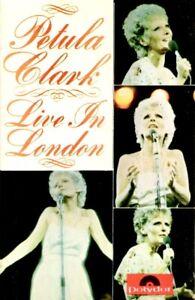 PETULA CLARK - Live In London - 1974 Polydor UK - CASSETTE TAPE